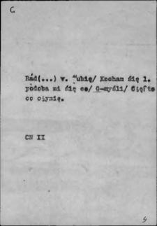 Kartoteka Słownika języka polskiego XVII i 1. połowy XVIII wieku; G - Ganić