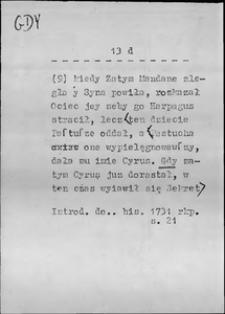 Kartoteka Słownika języka polskiego XVII i 1. połowy XVIII wieku; Gdy3 - Gdykolwiek