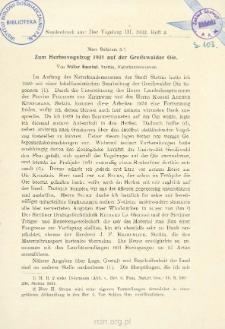Mare Balticum 3 : Zum Herbstvogelzug 1931 auf der Greifswalder Oie