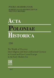 Acta Poloniae Historica T. 116 (2017), Shorts Notes