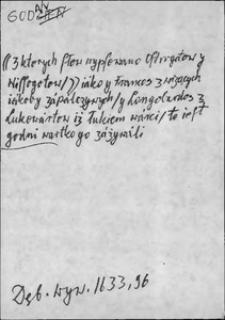 Kartoteka Słownika języka polskiego XVII i 1. połowy XVIII wieku; Godny - Gogółka