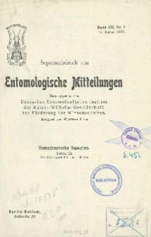 Sumatranische Insekten : (Beitrag II)