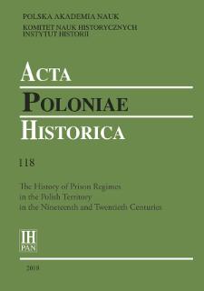 Acta Poloniae Historica T. 118 (2018), Short notes