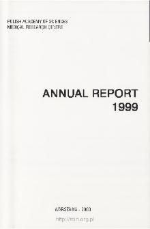 Report of Scientific Activities 1999