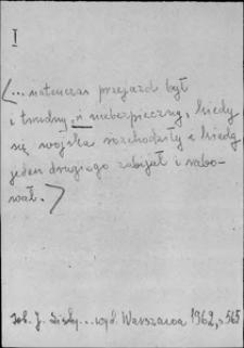 Kartoteka Słownika języka polskiego XVII i 1. połowy XVIII wieku; I16