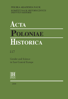 Acta Poloniae Historica T. 117 (2018), Reviews
