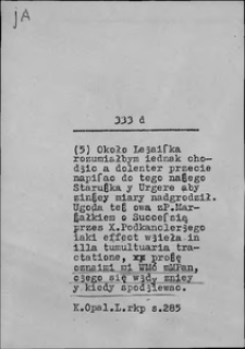 Kartoteka Słownika języka polskiego XVII i 1. połowy XVIII wieku; Ja3