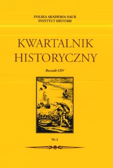 Rzeczpospolita między Prusami a Rosją w świetle polsko-pruskiego sporu o cło generalne w 1765 r. Cz. 2