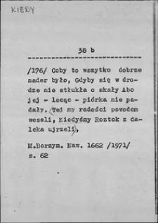Kartoteka Słownika języka polskiego XVII i 1. połowy XVIII wieku; Kiedy2 - Kielkadziesiąt