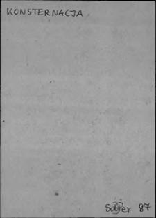 Kartoteka Słownika języka polskiego XVII i 1. połowy XVIII wieku; Konsternacja - Konwersowanie