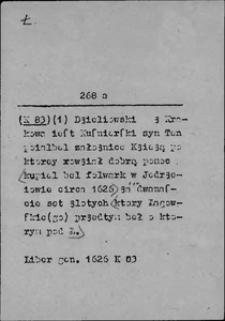 Kartoteka Słownika języka polskiego XVII i 1. połowy XVIII wieku; Ł - Łasić się