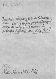 Kartoteka Słownika języka polskiego XVII i 1. połowy XVIII wieku; Mistrzać - Młodzież