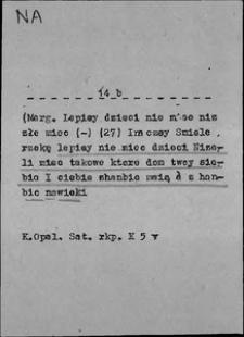 Kartoteka Słownika języka polskiego XVII i 1. połowy XVIII wieku; Na8