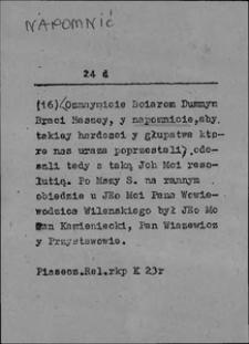 Kartoteka Słownika języka polskiego XVII i 1. połowy XVIII wieku; Napomnić - Narożny