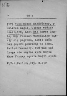 Kartoteka Słownika języka polskiego XVII i 1. połowy XVIII wieku; Nie6