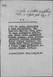 Kartoteka Słownika języka polskiego XVII i 1. połowy XVIII wieku; Nie8