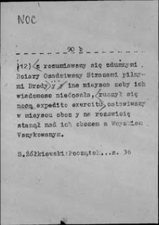 Kartoteka Słownika języka polskiego XVII i 1. połowy XVIII wieku; Noc2 - Nos