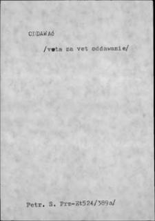Kartoteka Słownika języka polskiego XVII i 1. połowy XVIII wieku; Oddawać - Odjąć się