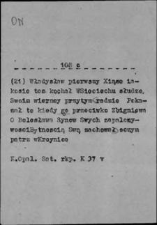 Kartoteka Słownika języka polskiego XVII i 1. połowy XVIII wieku; On5