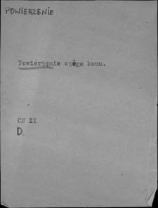 Kartoteka Słownika języka polskiego XVII i 1. połowy XVIII wieku; Powierzenie - Powitanie