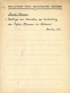 """Kartoteka """"Biblioteka Prof. Władysława Szafera"""" : Schu-Simo"""