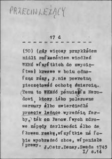 Kartoteka Słownika języka polskiego XVII i 1. połowy XVIII wieku; Przeciwleżący - Przed1