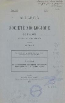 Sur la distribution géographique d'Ectinosoma Abrau (Kritchag) = E. Edwardsi Richard