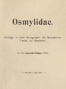 Osmylidae: Beiträge zu einer Monographie der Neuropteren-Familie der Osmyliden. [2]
