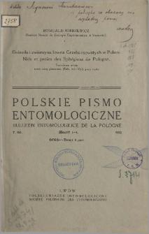 Nids et proies des Sphégiens de Pologne = Gniazda i zwierzyna łowna Grzebaczowatych w Polsce