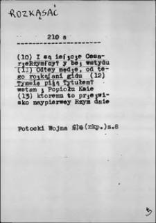 Kartoteka Słownika języka polskiego XVII i 1. połowy XVIII wieku; Rozkąsać - Rozmyslać