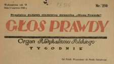 Głos Prawdy 1928 N.250