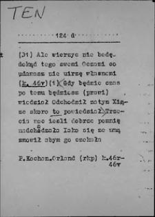 Kartoteka Słownika języka polskiego XVII i 1. połowy XVIII wieku; Ten6