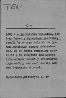 Kartoteka Słownika języka polskiego XVII i 1. połowy XVIII wieku; Ten9