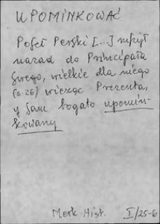 Kartoteka Słownika języka polskiego XVII i 1. połowy XVIII wieku; Upominkować - Urągowisko
