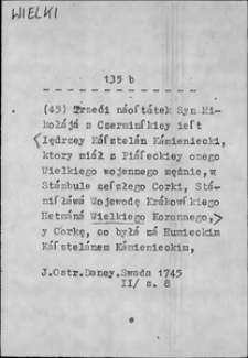 Kartoteka Słownika języka polskiego XVII i 1. połowy XVIII wieku; Wielki3 - Wiernuś