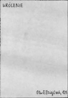 Kartoteka Słownika języka polskiego XVII i 1. połowy XVIII wieku; Wrócenie - Wsiądzenie