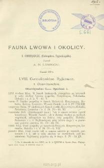 Fauna Lwowa i okolicy: 1. Chrząszcze (Coleoptera. Tęgoskrzydte). Cz. 3