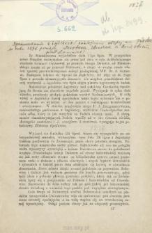 [Sprawozdanie z wycieczki zoologicznej odbytej na Podolu w roku 1876 pomiędzy Zbruczem a Dniestrem]