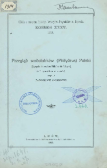 Przegląd wodolubków (Philydrus) Polski