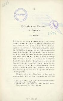 Myriapoda Musæi Hauniensis: III. Chilopoda