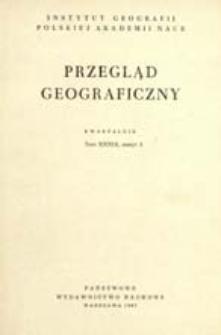 Przegląd Geograficzny T. 39 z. 3 (1967)