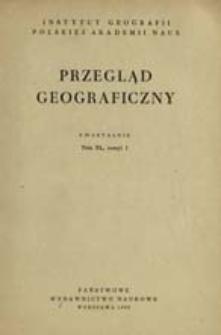 Przegląd Geograficzny T. 40 z. 1 (1968)