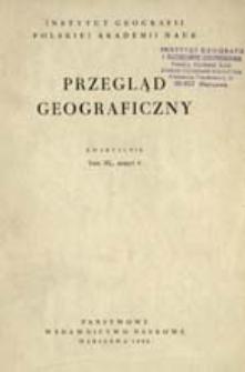 Przegląd Geograficzny T. 40 z. 4 (1968)