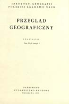Przegląd Geograficzny T. 42 z. 1 (1970)