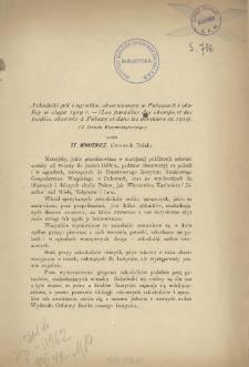 Szkodniki pól i ogrodów, obserwowane w Puławach i okolicy w ciągu 1919 r. = Les parasites des champs et des jardins, observés à Puławy et dans les alentours en 1919)