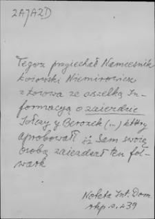 Kartoteka Słownika języka polskiego XVII i 1. połowy XVIII wieku; Zajazd - Zakonnik