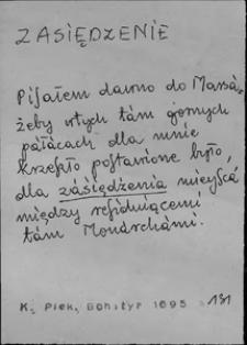 Kartoteka Słownika języka polskiego XVII i 1. połowy XVIII wieku; Zasiędzenie - Zastępowanie