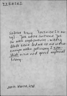 Kartoteka Słownika języka polskiego XVII i 1. połowy XVIII wieku; Ziemski - Zjednać