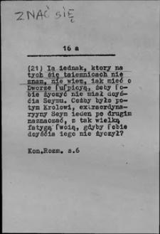 Kartoteka Słownika języka polskiego XVII i 1. połowy XVIII wieku; Znać się - Zniesiony