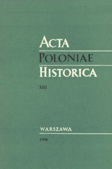 Some Problems of Polish-Tatar Relations in the Seventeenth Century. The Financial Aspects of the Polish-Tatar Alliance in the Years 1654-1666